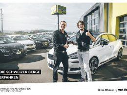 Die Schweizer Berge erfahren mit Silvan Widmer - Auto Welt von Rotz AG 26