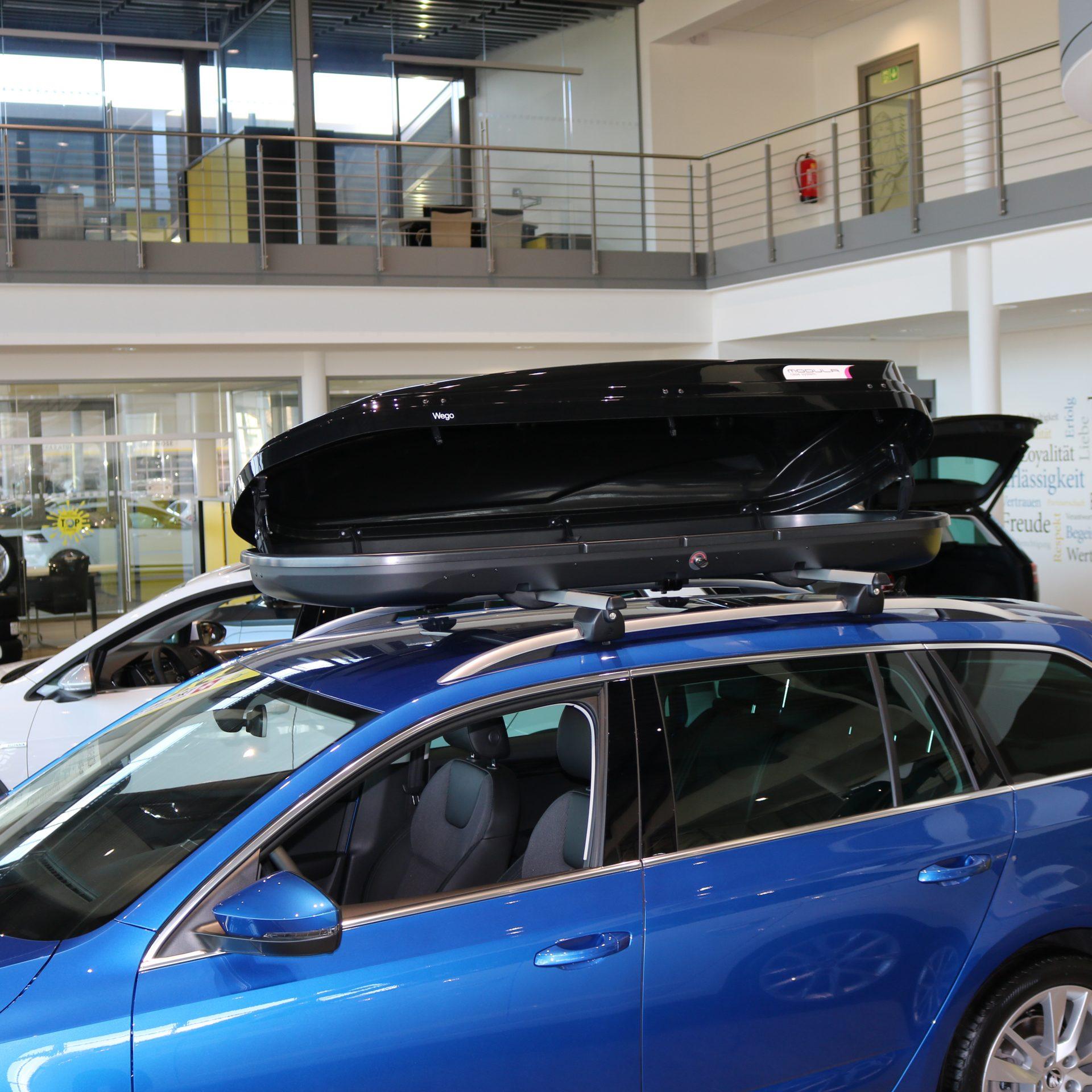 Dachbox Modula Wego Black - Auto Welt von Rotz AG 3