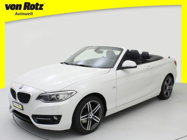 BMW 220d Sport Line