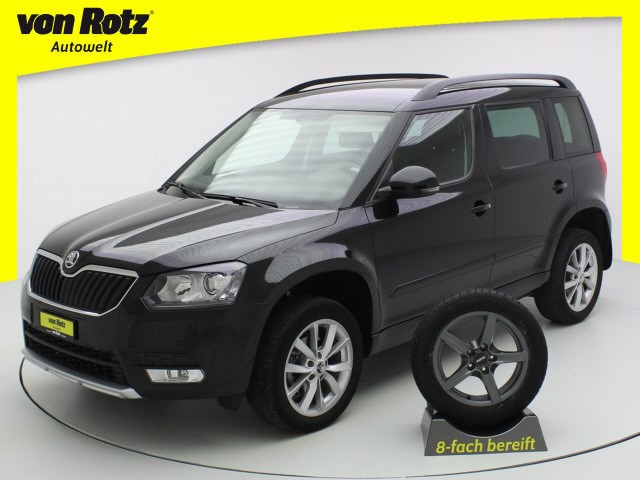 skoda yeti 1 4 tsi style 4x4 auto welt von rotz. Black Bedroom Furniture Sets. Home Design Ideas