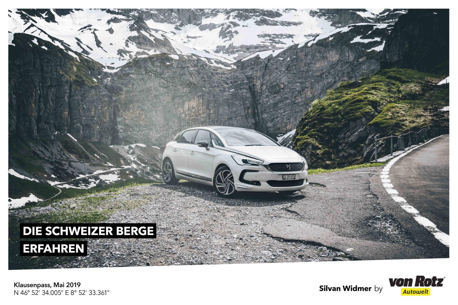 Die Schweizer Berge erfahren mit Silvan Widmer - Auto Welt von Rotz AG
