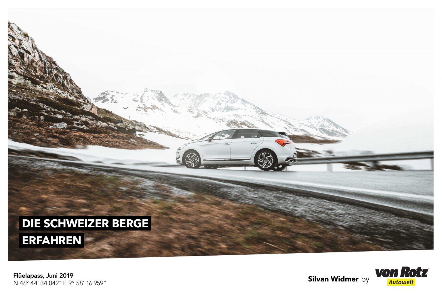 Die Schweizer Berge erfahren mit Silvan Widmer - Auto Welt von Rotz AG 1
