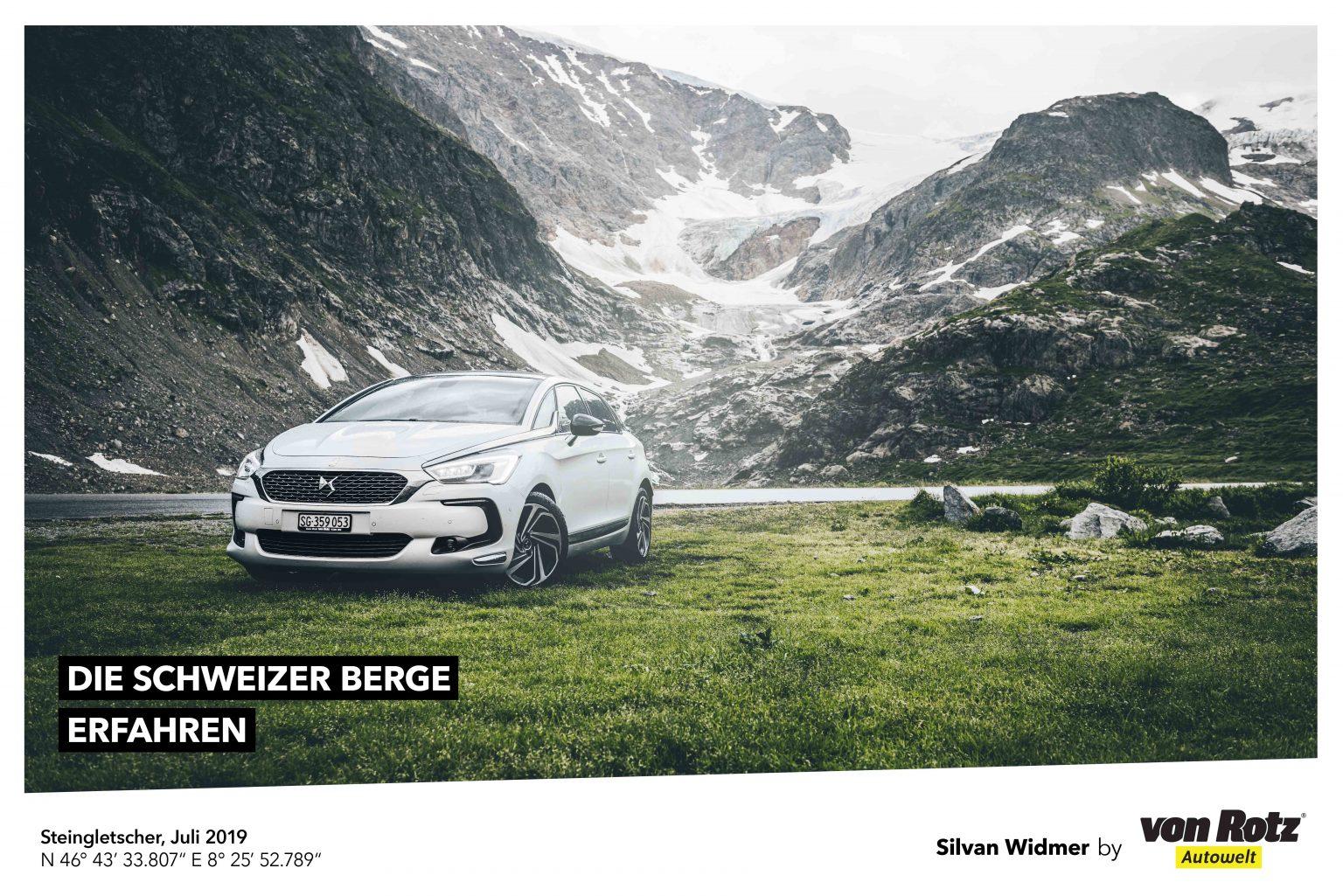 Die Schweizer Berge erfahren mit Silvan Widmer - Auto Welt von Rotz AG 2