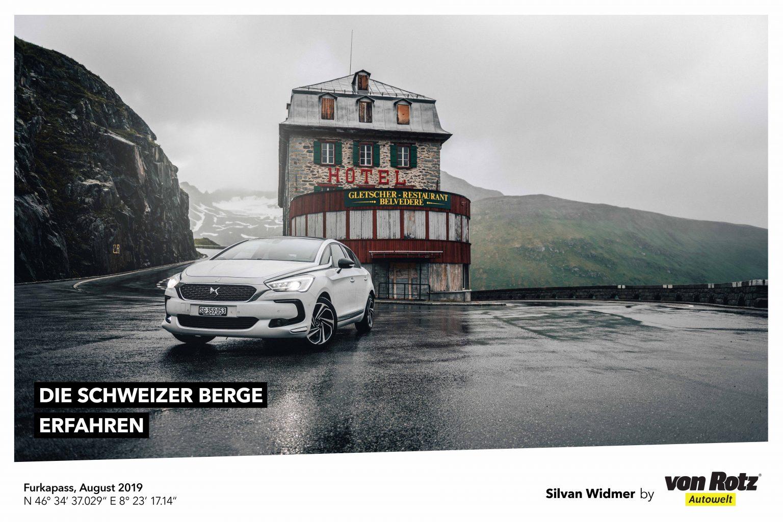 Die Schweizer Berge erfahren mit Silvan Widmer - Auto Welt von Rotz AG 3