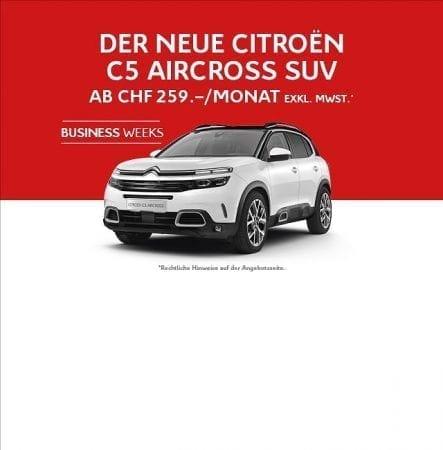 Die CITROËN BUSINESS WEEKS im November in der Auto Welt von Rotz AG in Wil - Auto Welt von Rotz AG 2