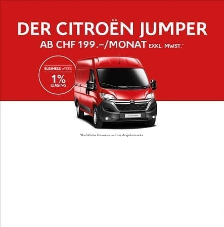 Die CITROËN BUSINESS WEEKS im November in der Auto Welt von Rotz AG in Wil - Auto Welt von Rotz AG 3