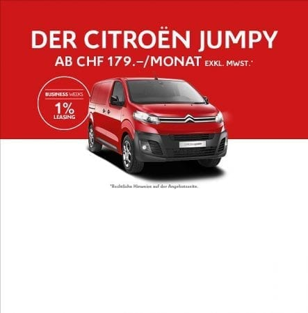 Die CITROËN BUSINESS WEEKS im November in der Auto Welt von Rotz AG in Wil - Auto Welt von Rotz AG 4