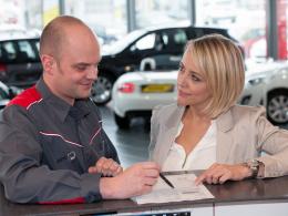 Serviceanmeldung - Auto Welt von Rotz AG