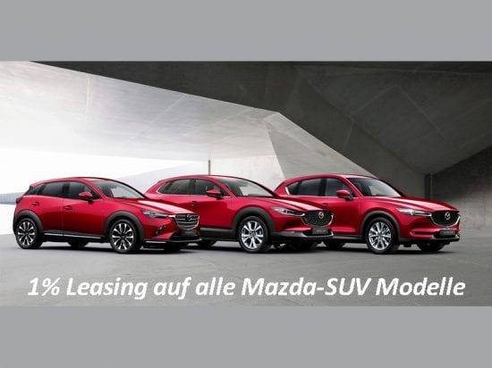1% Leasing auf alle Mazda-SUV – jetzt in der Auto Welt von Rotz AG profitieren! - Auto Welt von Rotz AG