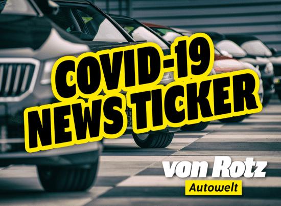 COVID-19 Newsticker - Auto Welt von Rotz AG