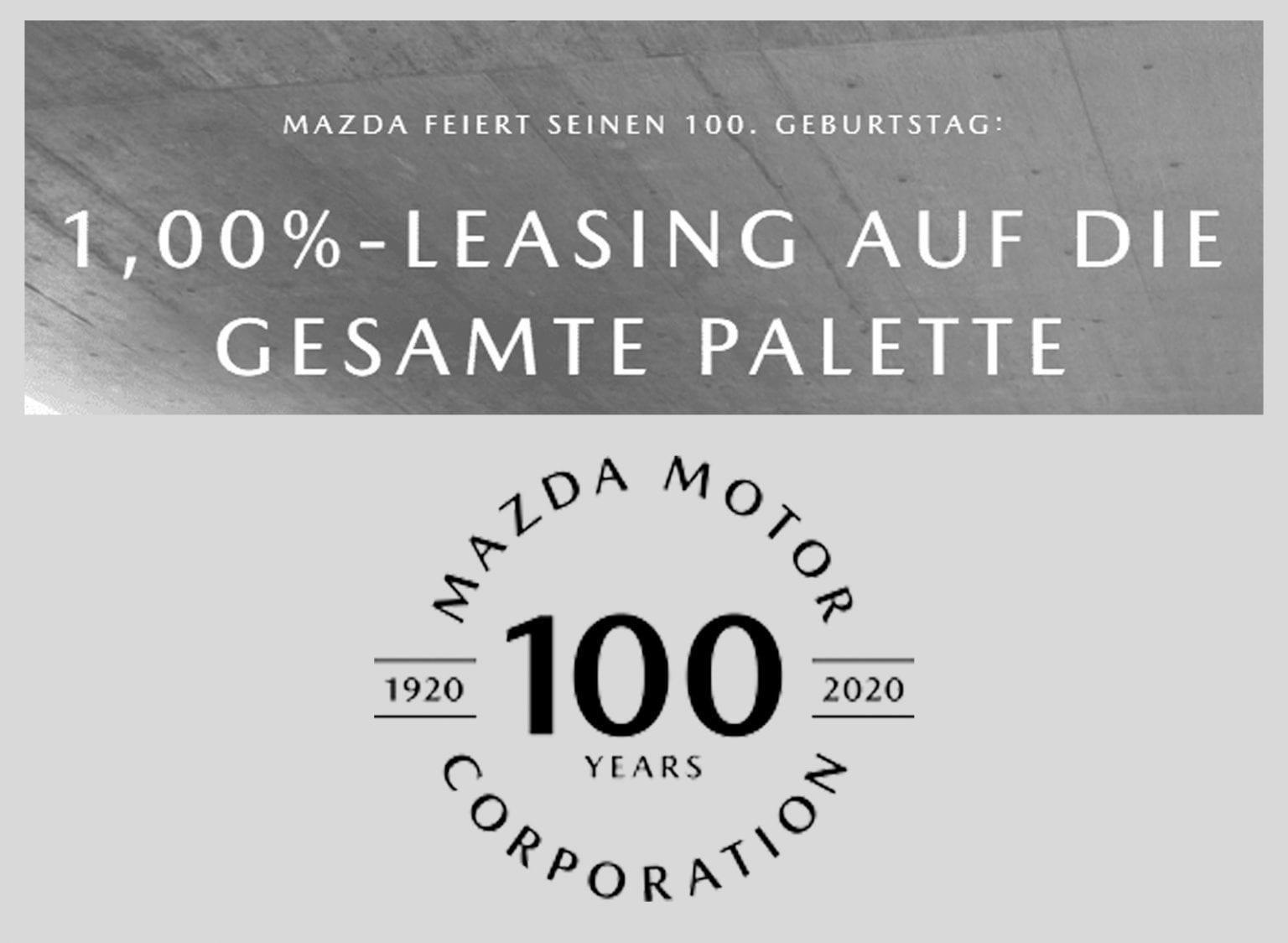 Mazda feiert seinen 100. Geburtstag und geht in die Verlängerung - Auto Welt von Rotz AG 2
