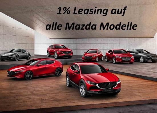 1% Leasing auf alle Mazda-SUV – jetzt in der Auto Welt von Rotz AG profitieren! - Auto Welt von Rotz AG 1