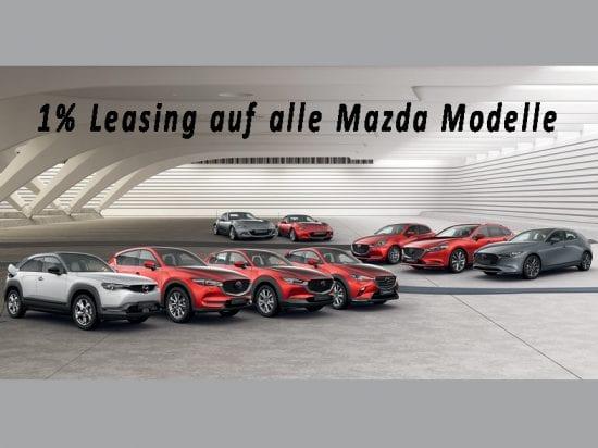 1% Leasing auf alle Mazda-Modelle – jetzt in der Auto Welt von Rotz AG profitieren! - Auto Welt von Rotz AG