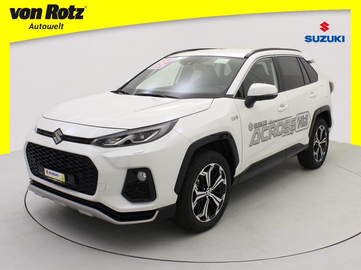 New Suzuki Across – Jetzt in der Auto Welt von Rotz AG - Auto Welt von Rotz AG
