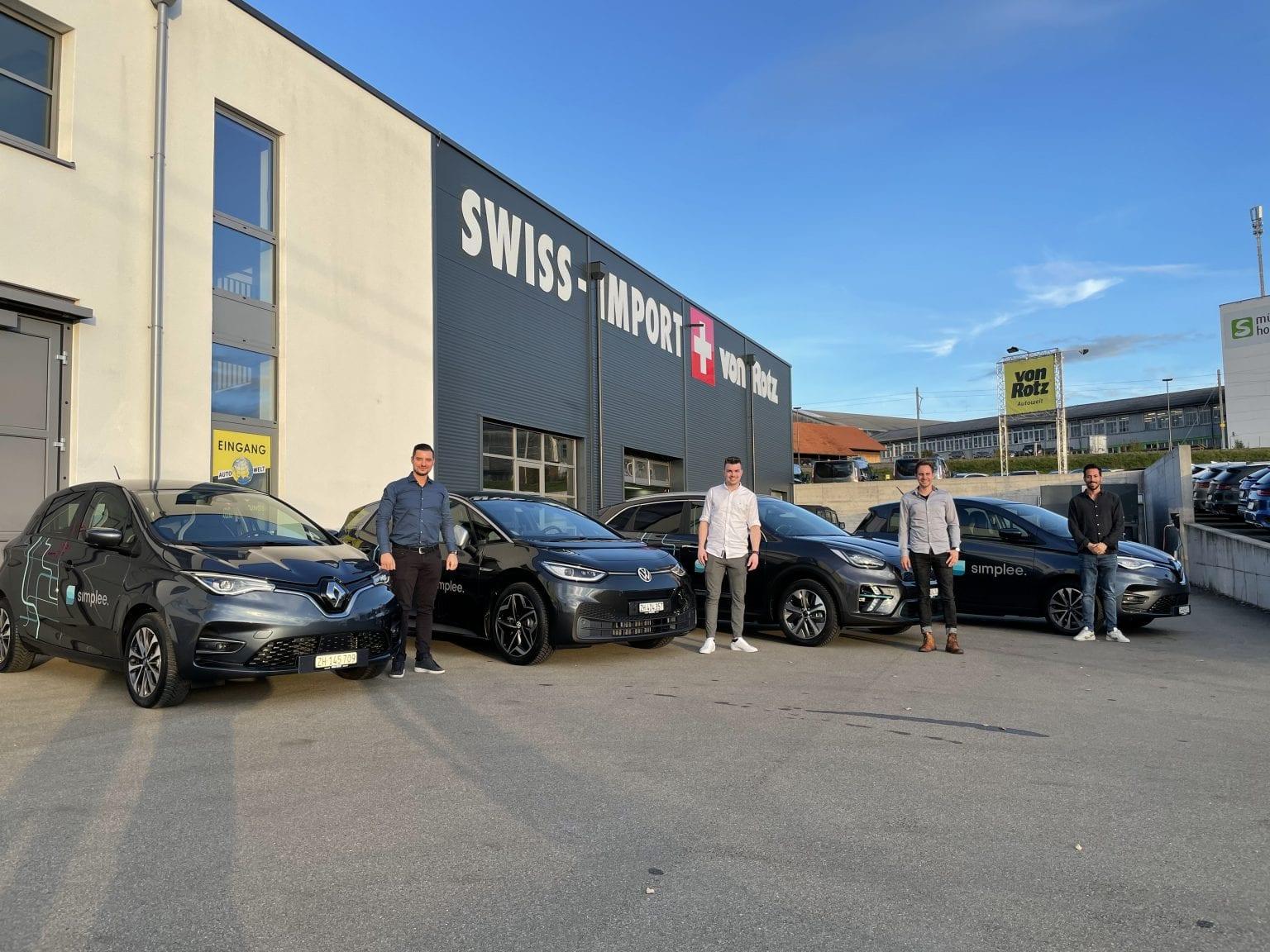 Simplee AG fährt Elektrisch mit Autos von der Auto Welt von Rotz AG - Auto Welt von Rotz AG 2