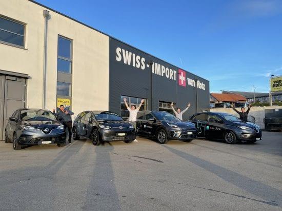 Simplee AG fährt Elektrisch mit Autos von der Auto Welt von Rotz AG - Auto Welt von Rotz AG