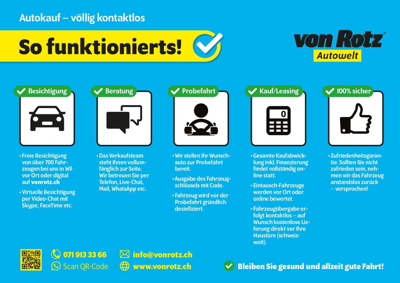 Lockdown Info Verkauf - Auto Welt von Rotz AG