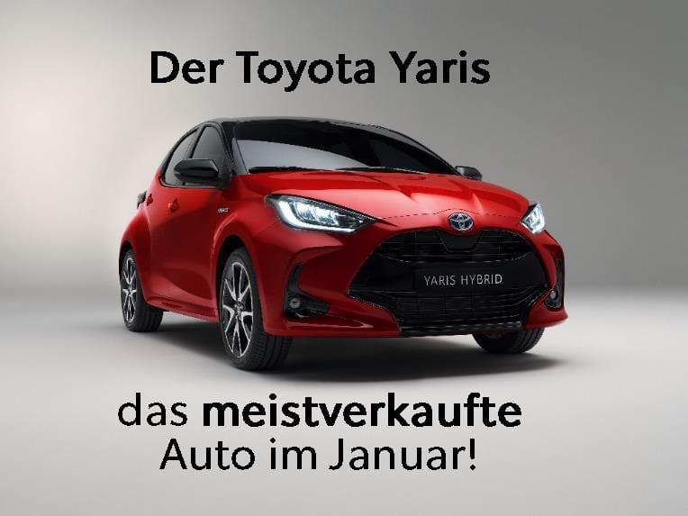 Toyota Yaris ist das beliebteste Auto der Schweiz! - Auto Welt von Rotz AG