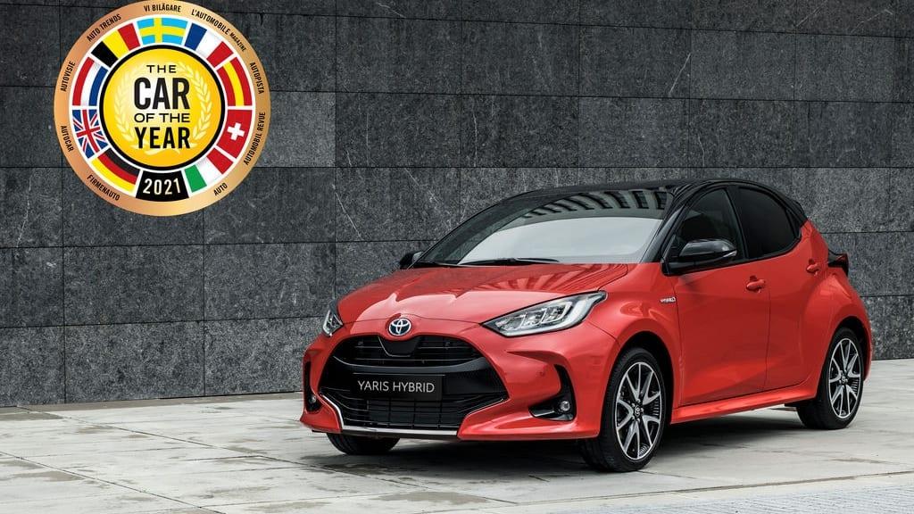 """Toyota Yaris gewinnt die Wahl zum """"European Car of the Year 2021"""" - Auto Welt von Rotz AG"""