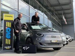 2. Electric Avenue - Elektro Porbefahrttage in Wil am 24. April 2021 - Auto Welt von Rotz AG
