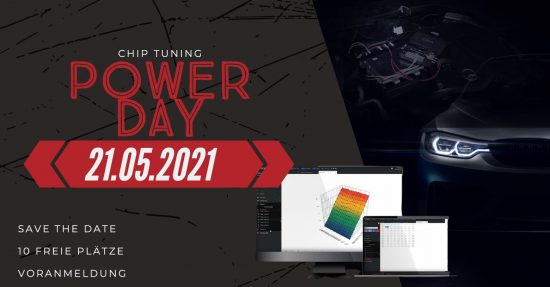 Power Day - Chip Tuning - In House - Auto Welt von Rotz AG 1