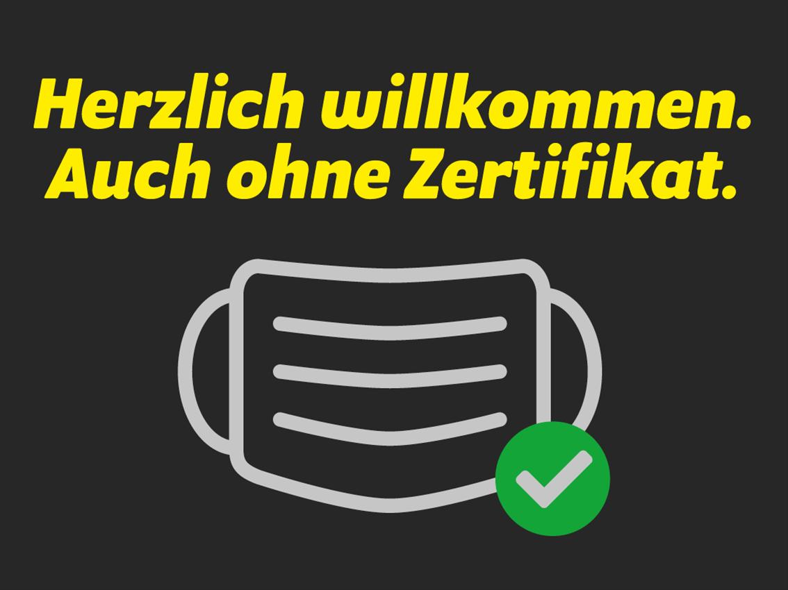 Keine Zertifikatspflicht im Showroom und Werkstatt - Auto Welt von Rotz AG 1