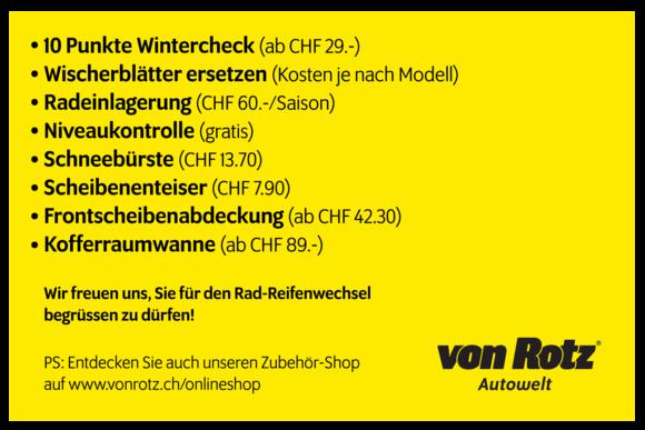 Online-Terminvereinbarung - Auto Welt von Rotz AG